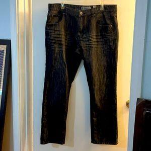INC men's black wash jeans